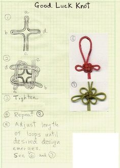 Good Luck knot