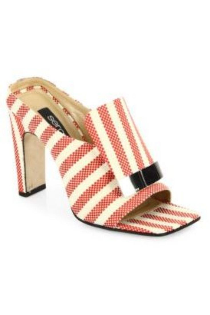 purchase for sale Sergio Rossi Sr1 Portofino Sabot Sandals clearance cheapest price best sale sale online toU6XaD