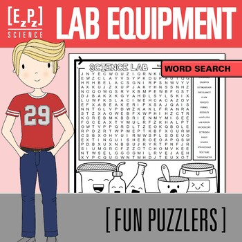 Lab Equipment Word Search Science Fun Puzzler