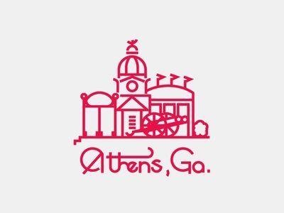 Pin By Katie Corbett On Straight Outta Silhouette Athens Ga Map Athens Athens Ga