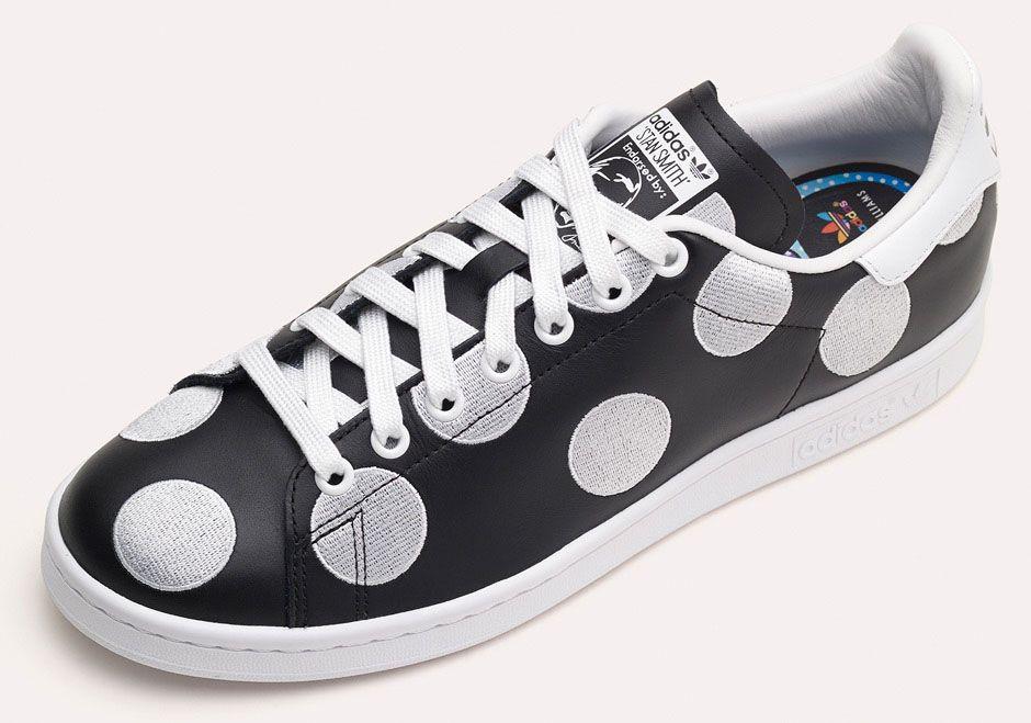 adidas stan smith polka dot