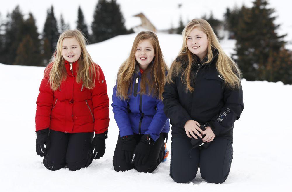 Beau Monde   Pisteprinsessen: Oranjes genieten van Lech