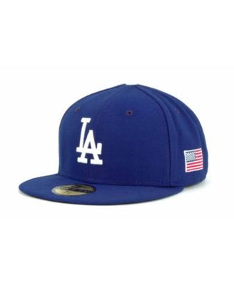 81fb76c68 New Era Los Angeles Dodgers Ac On-Field 9-11 Patch 59FIFTY Cap ...