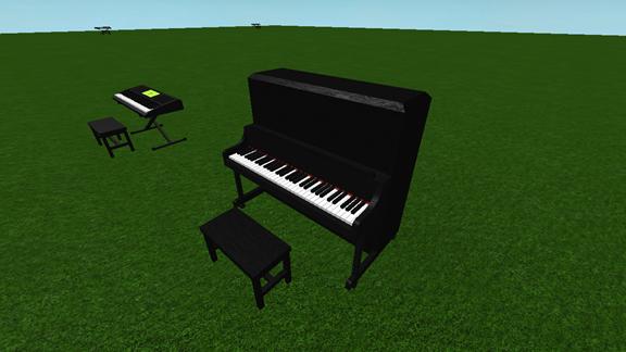 Piano Keyboard [FIXED] ROBLOX Piano, Parkour, Keyboard