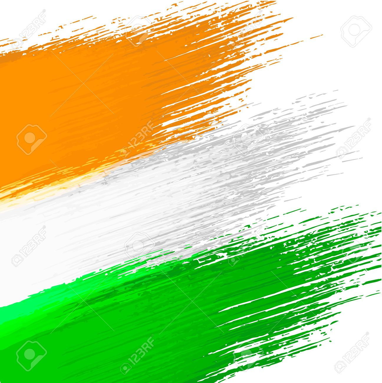 Stock Vector in 2020 Colours of indian flag, Indian flag