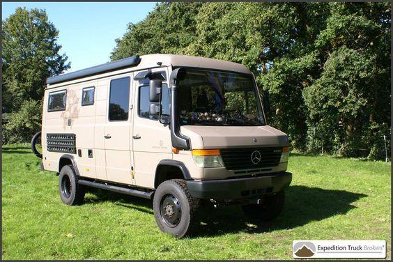 mercedes vario 4x4 expedition camper van more camping cars pinterest amenagement van. Black Bedroom Furniture Sets. Home Design Ideas