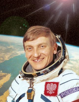 The very first and only Polish Astronaut: General Miroslaw ...