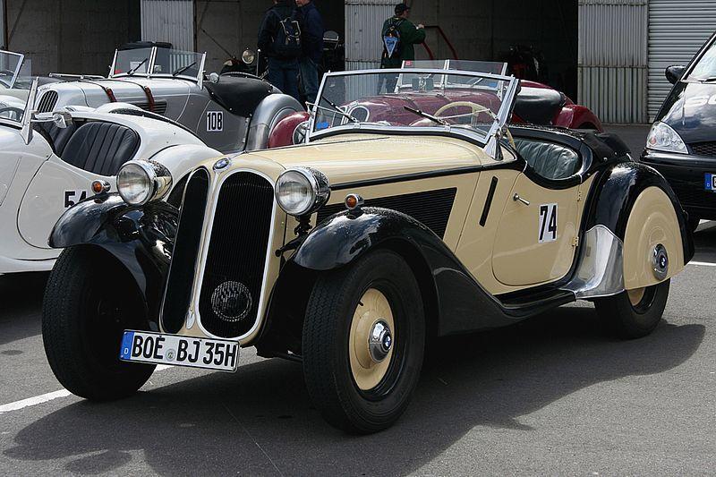 BMW 319/1, sports roadster – 1935 | BMW - 20TH CENTURY MODELS (upto ...