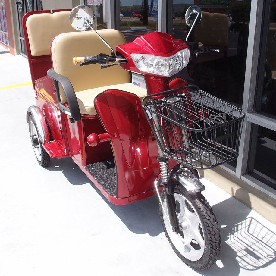 Gt tandem rumble seat mobility scooter