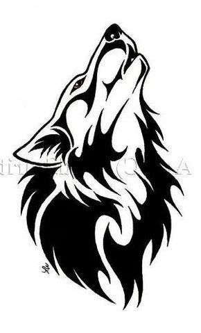 24 Simple Wolf Tattoo Art Design And Ideas For Tattooing Wolf Tattoos Men Tribal Wolf Tattoo Wolf Tattoo Meaning