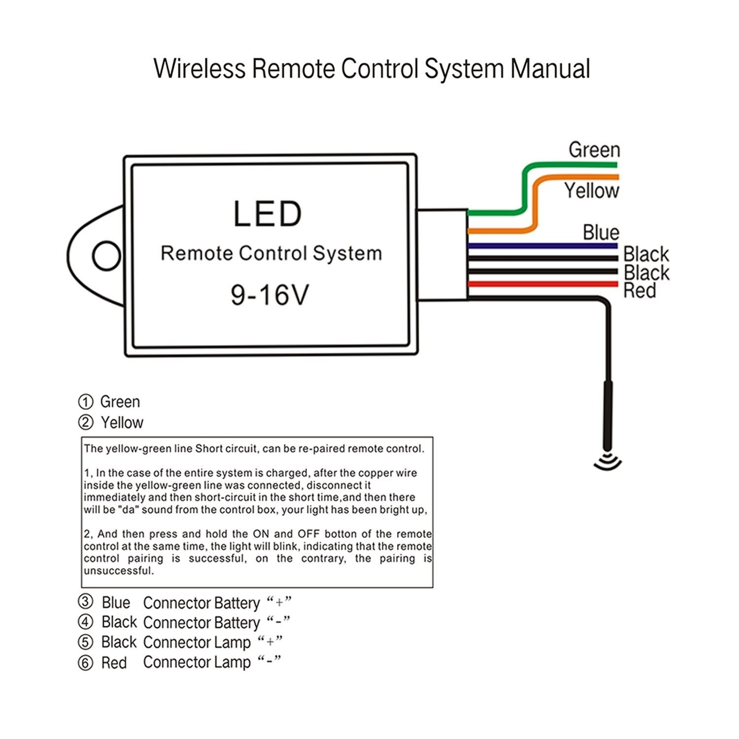 Wiring Order For A Traveller Remote Control Awesome Remote Remote Control Wireless