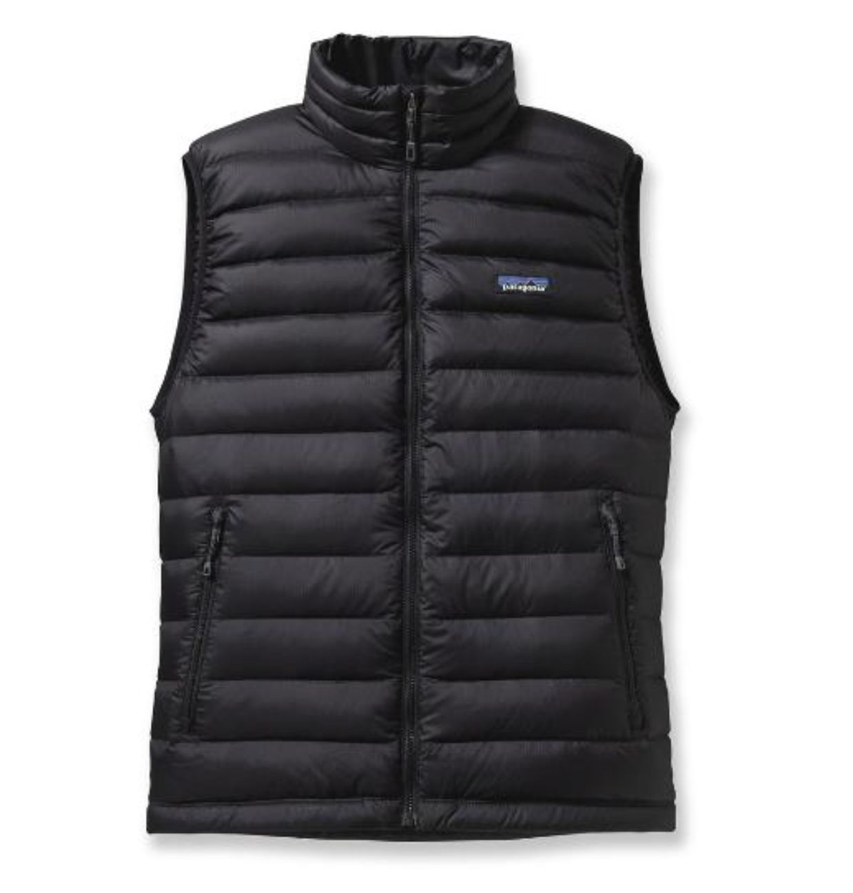 Vests 15691: New Patagonia Mens Down Sweater Vest Black Size Small ...