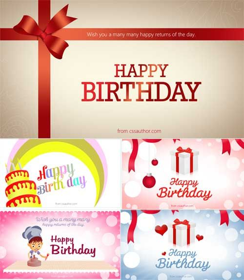 15 Free Editable Birthday Card Templates,    designeroptimus - free birthday cards templates