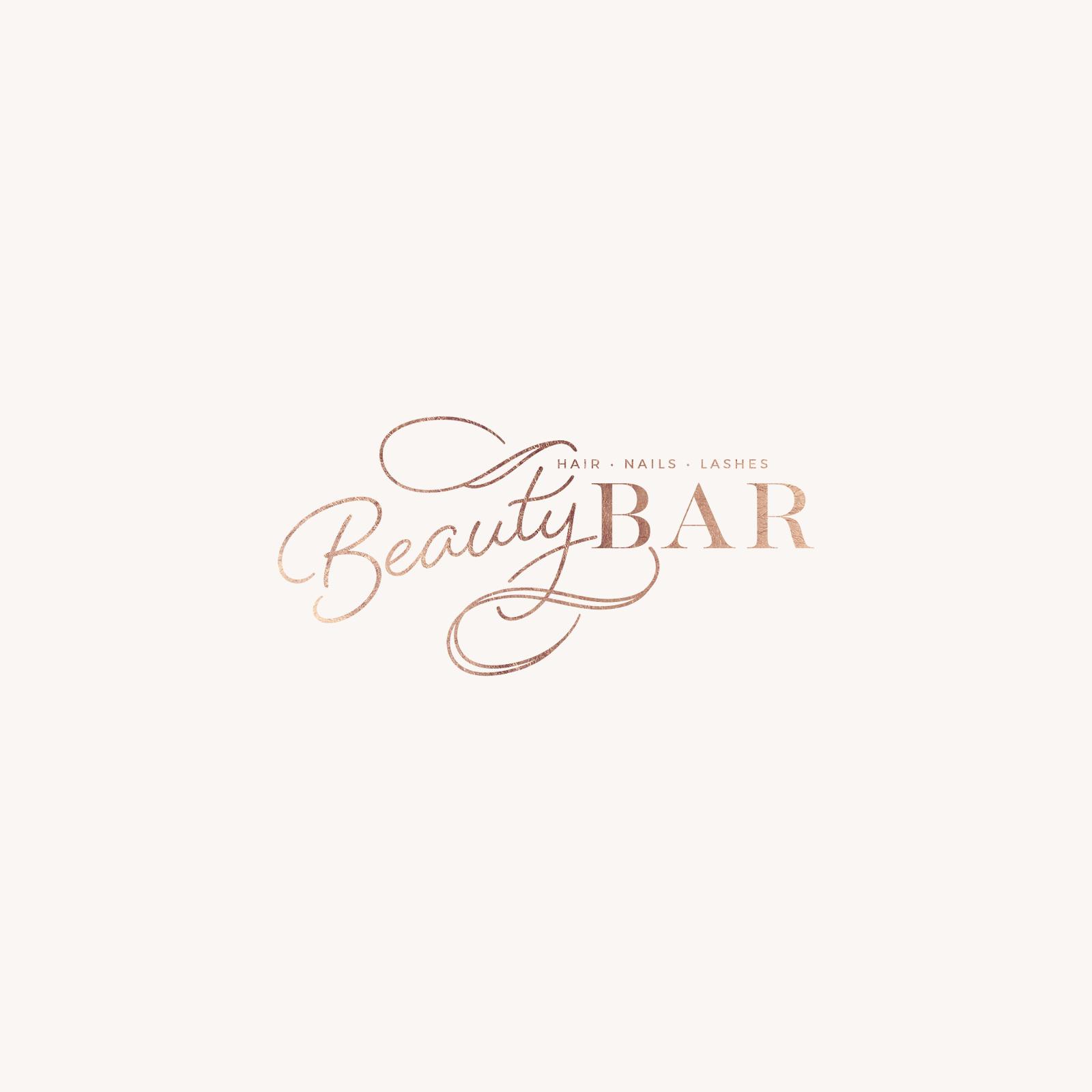 Beauty Bar Beauty salon logo, Spa logo, Elegant logo design