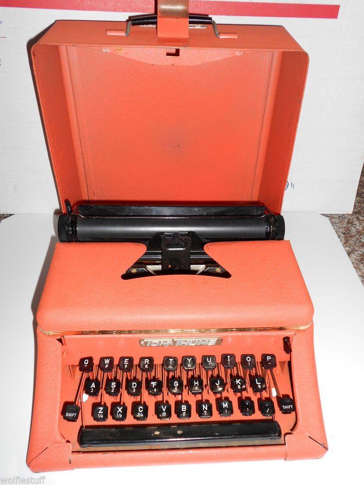 TOM THUMB ~Metal~ Typewriter ~Western Stamping Co.~ 50's-60's Vintage Metal Toy