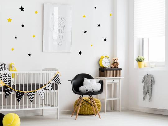 Muursticker wolkjes voor babykamer kinderkamer muurstickers