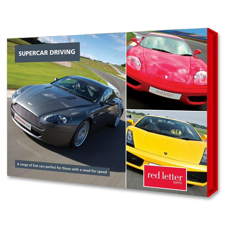 Buyred Letter Days Supercar Driving Online At Johnlewis Com Super Cars Lettering Driving