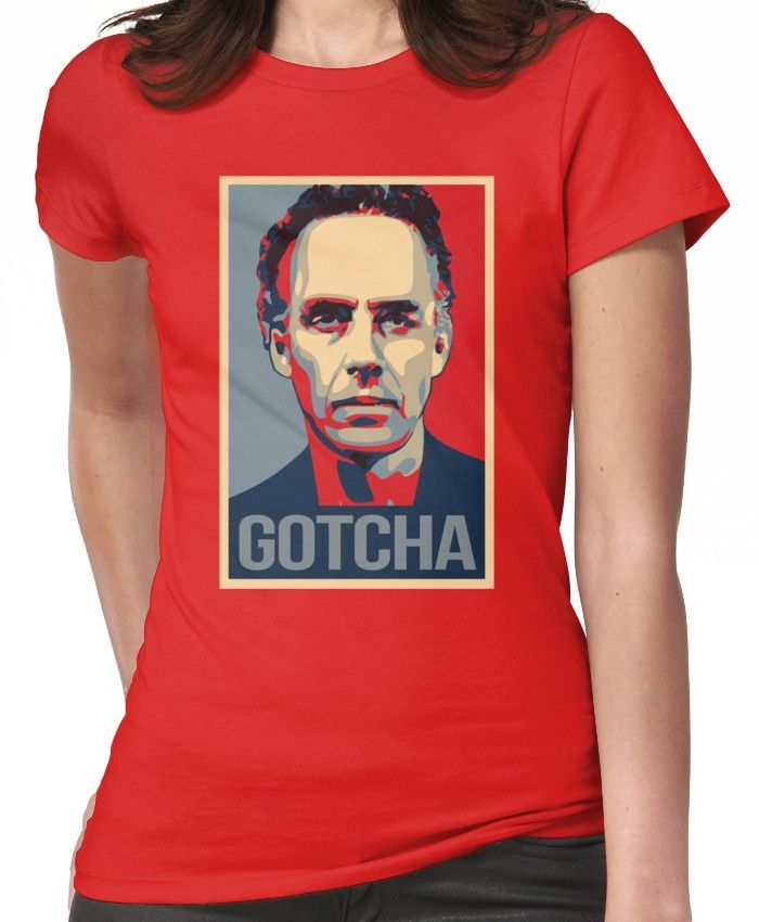 1fc4b7699f7 Gotcha - Jordan Peterson Canadian Psychologist Cathy Newman Debate Women's T -Shirt