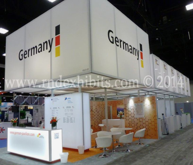 Basic Exhibition Booth : Bio germany pavilion octanorm exhibits pinterest