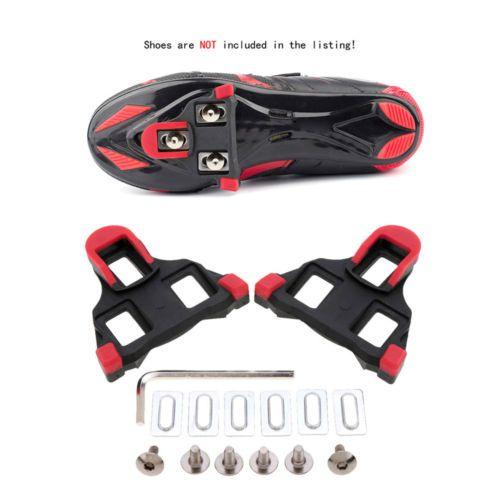 Shimano SM-SH11 SPD-SL Float 6° Road Bike Self-Locking Cycling Pedal Cleat Set