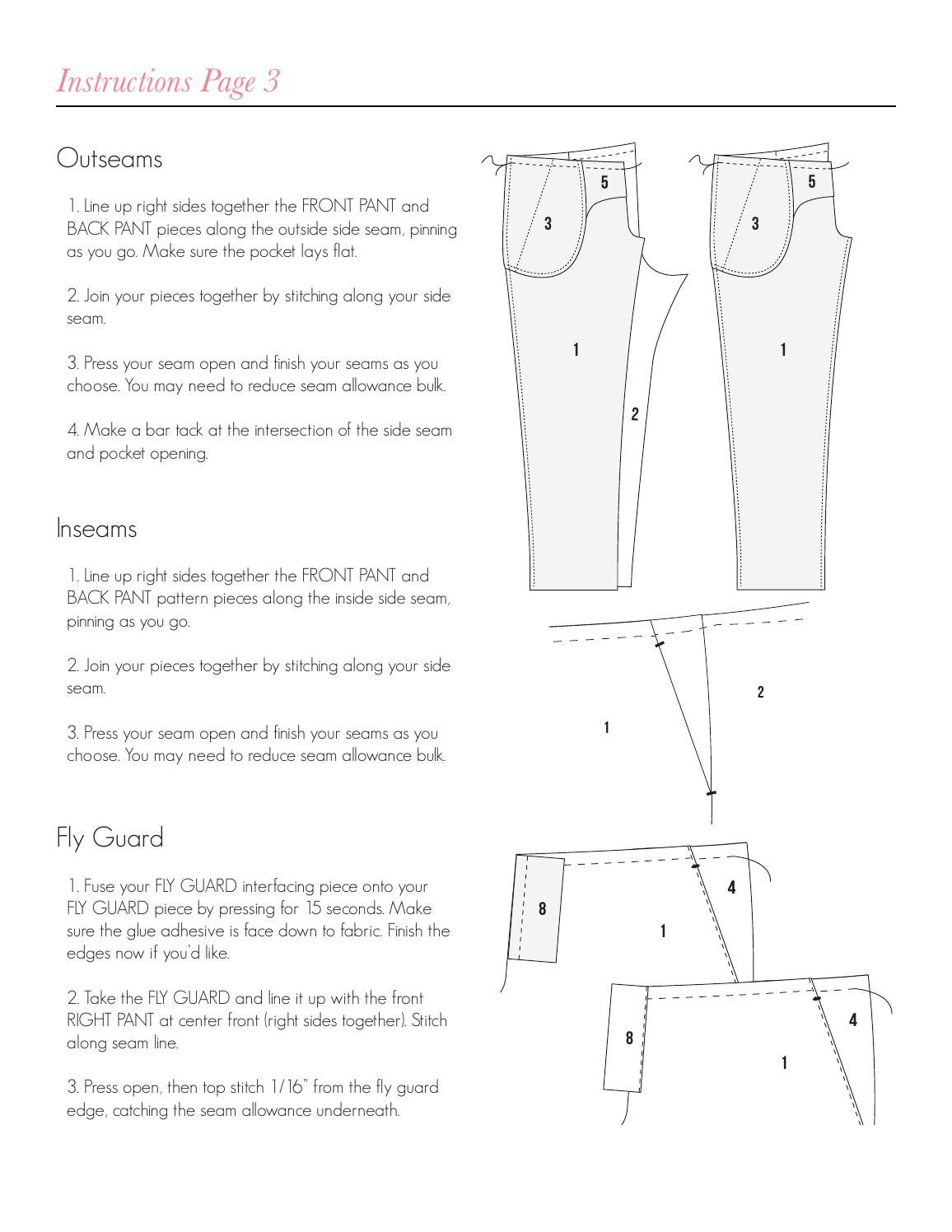 Emma pants sewing pattern spit up stilettos pattern print pants sewing pattern print on letter paper jeuxipadfo Image collections