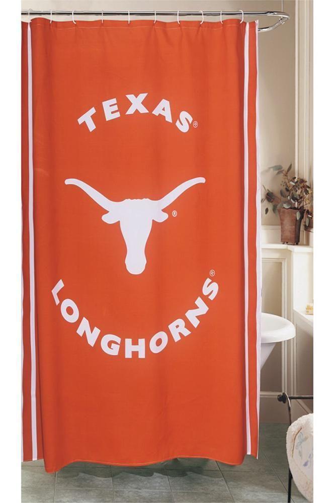 Longhorn Shower Curtain University Co Op Online Shower Curtain