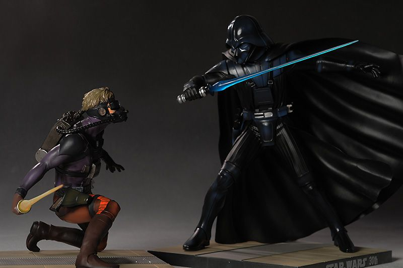 Darth Vader And Luke Starkiller Concept Art With Images Ralph