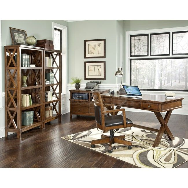 Perfect Burkesville Home Office Set