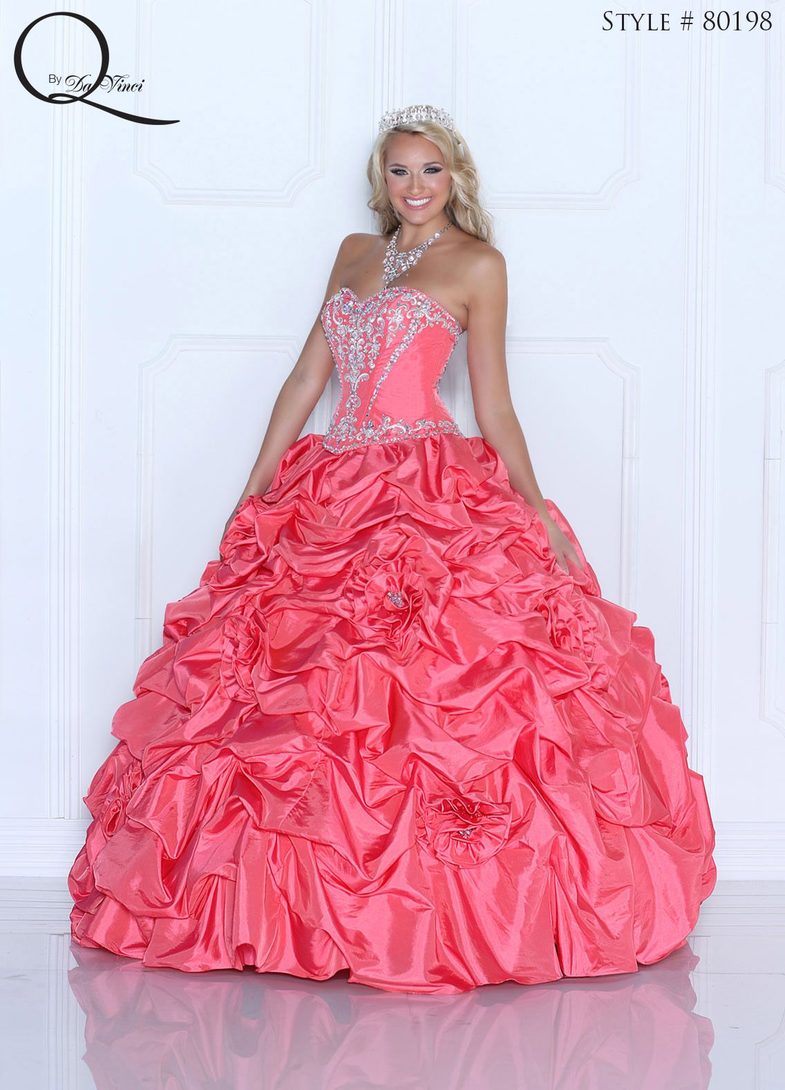 Pink Quinceanera dress ~ Quinceanera dresses from Q by Davinci ...