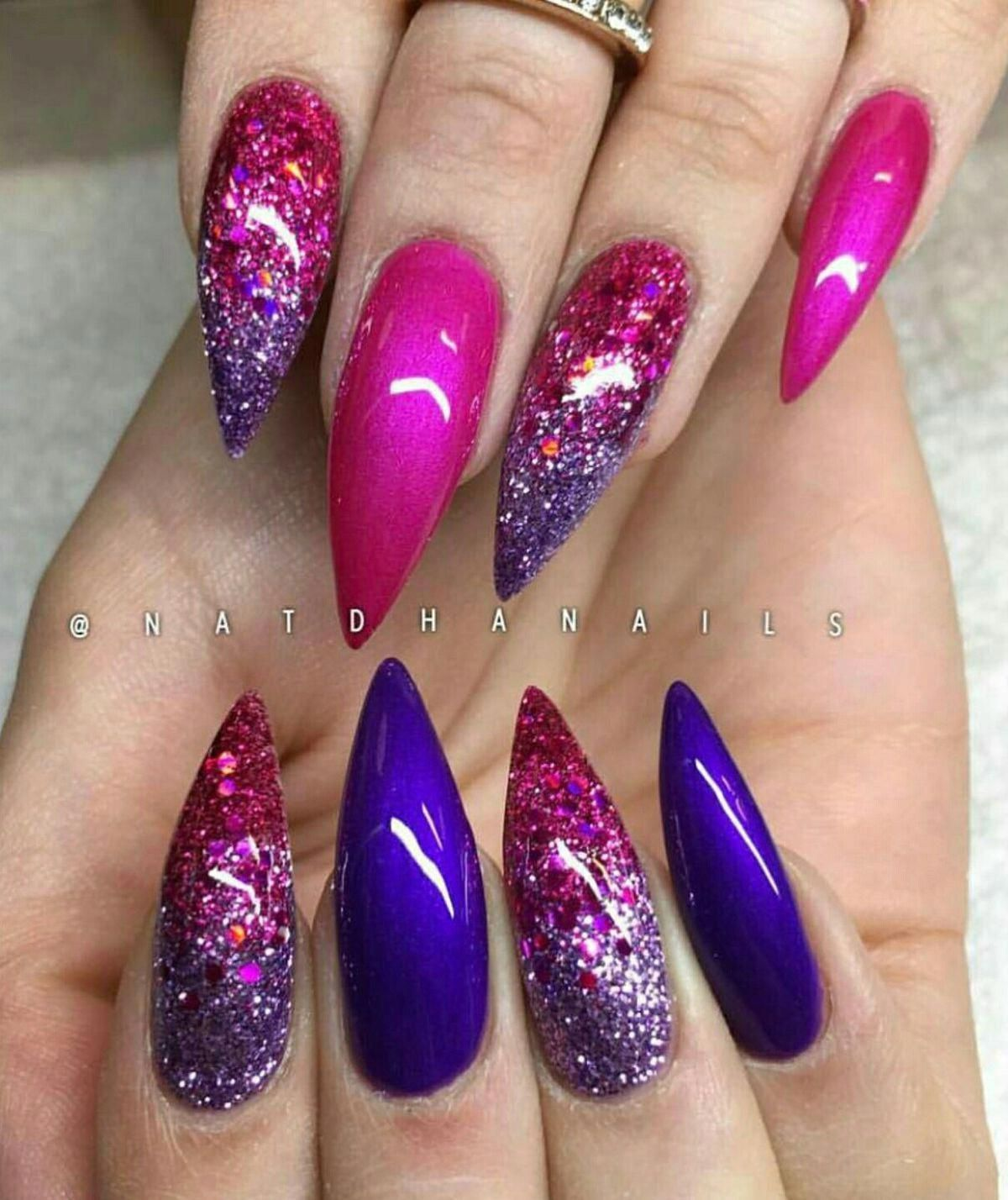 Visit www.facebook.com/groups/codescavengers for Amazon deals up to 99% off on glass nail files, polish, gel polish dryers and more! #stilettonail #ideisuper – Peinados facile