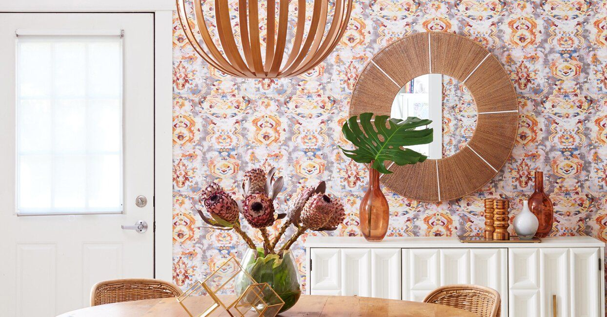 How To Apply Peel And Stick Wallpaper For Long Lasting Results Peel And Stick Wallpaper Home Wallpaper Wallpaper