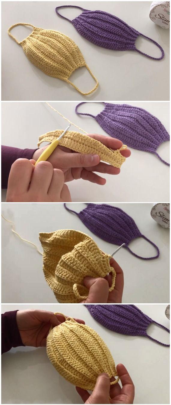 Photo of Lernen Sie, einfache Maske zu häkeln