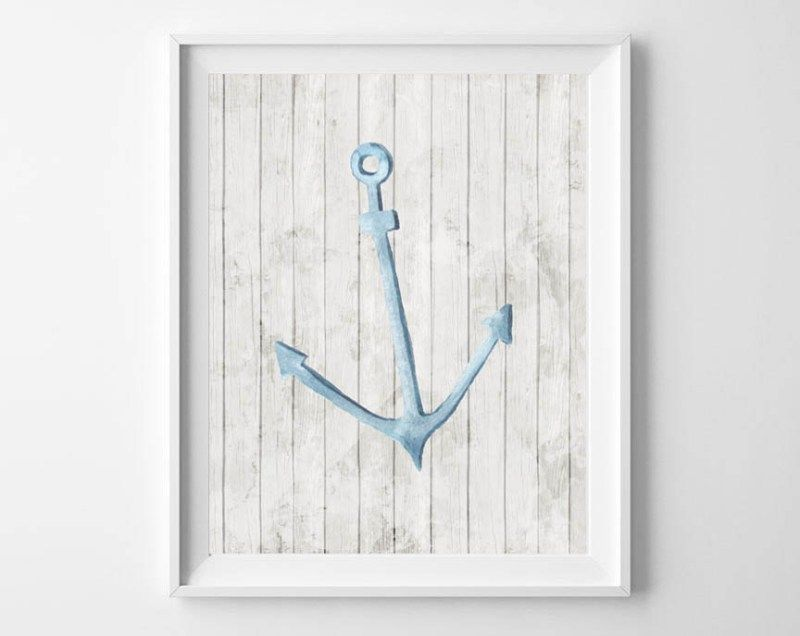 watercolor summer printable art is part of Art, Printable art, Free printable art, Watercolor anchor, Watercolor printable, Free art - Friends…how is it almost summer already  Not that I'm complaining; I love all things warmweather related, including these simple, yet rustic, watercolor free printables! Choose from an anchor, seashell or a crab, on a weathered, whitewashed wood background… watercolor anchor free printable watercolor seashell free printable watercolor crab free printable Our printables are so easyRead More