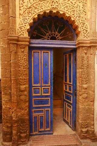 Ornate Doorway in Morocco