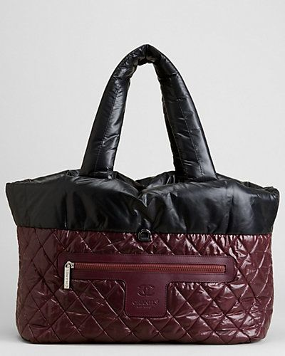 f250838efa12 Chanel Burgundy Vinyl Reversible Cocoon Bag