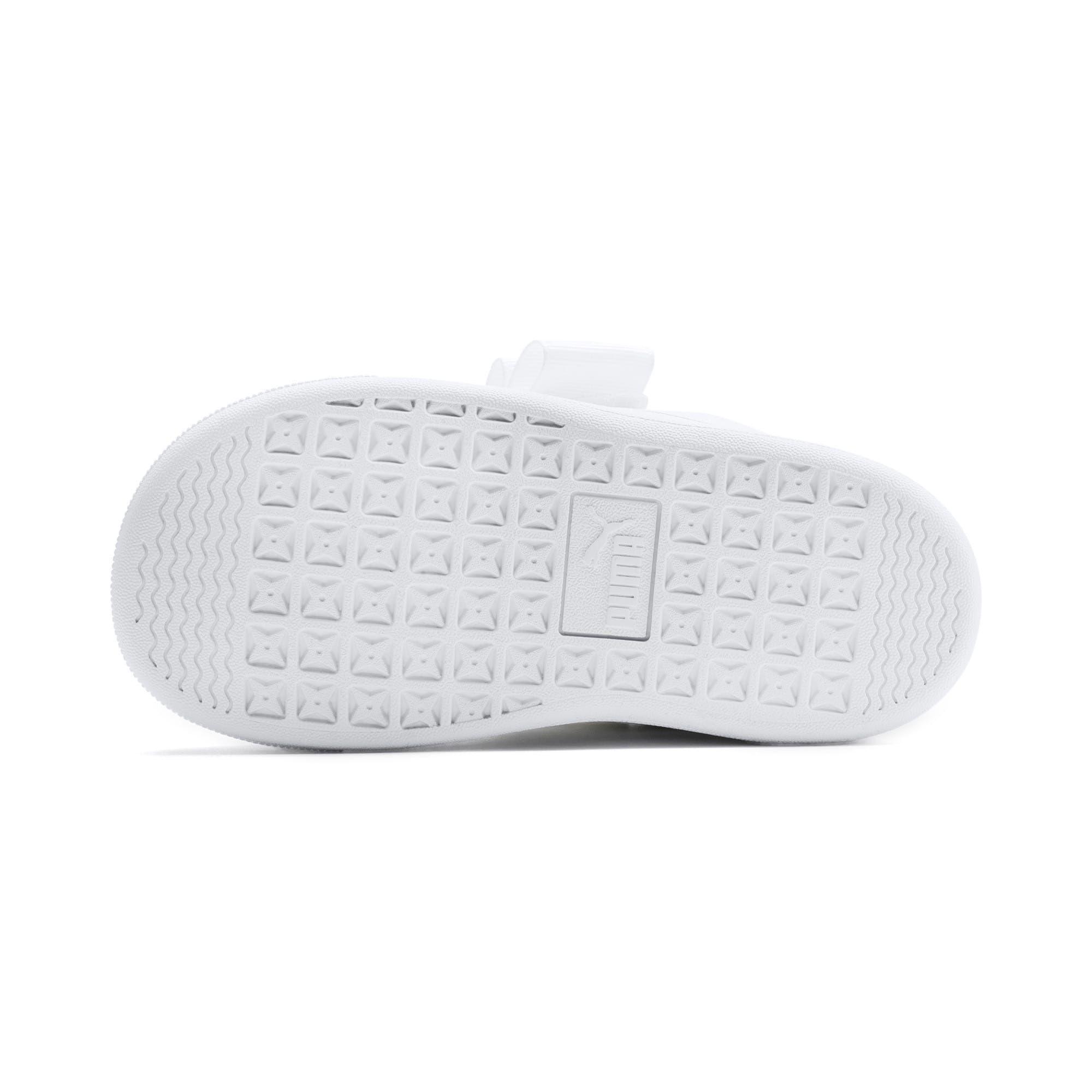 chaussure puma blanche fille