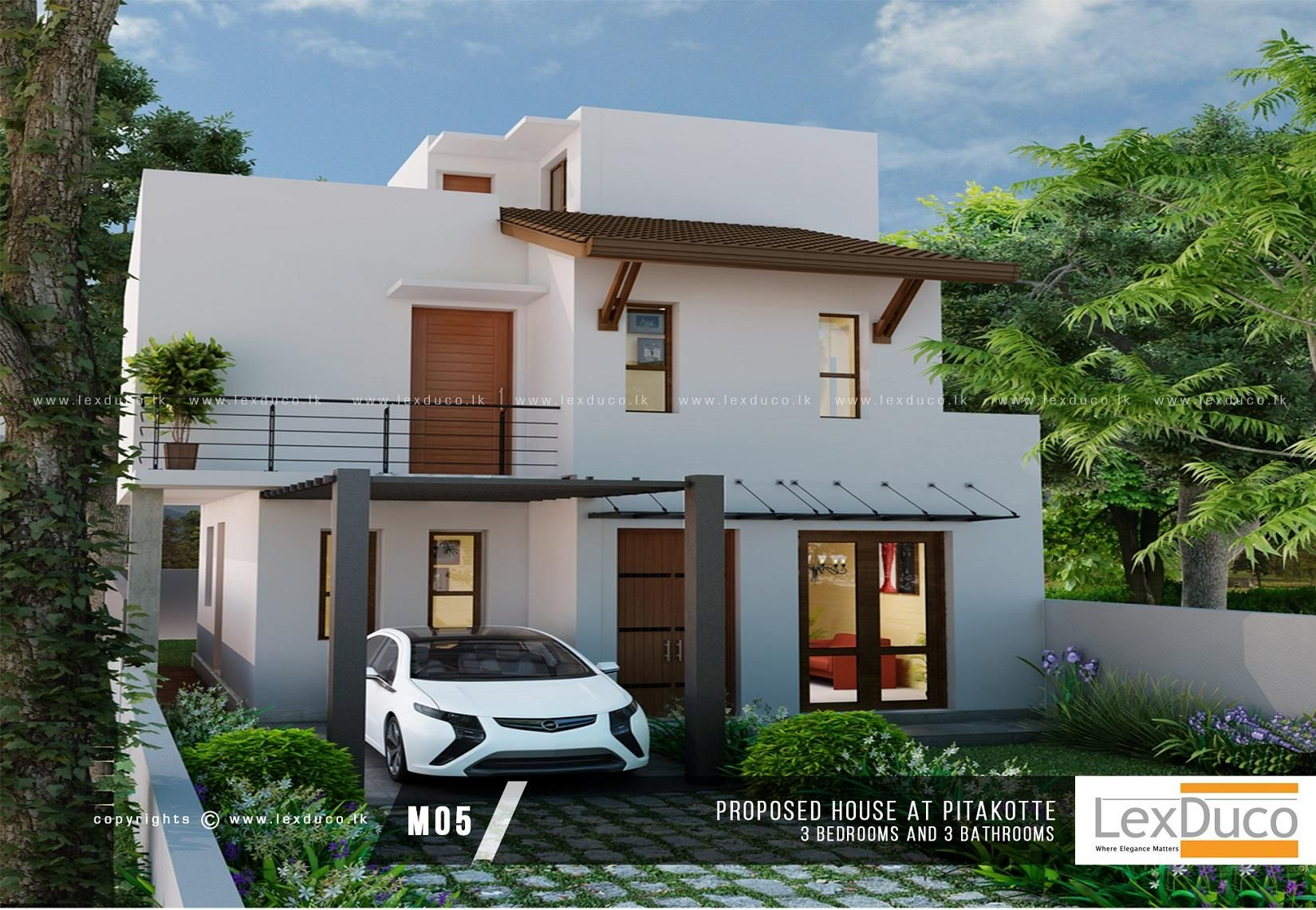 Pin By Wajira Pradeep On Modern House Designs Sri Lanka House Plans House Design House Styles