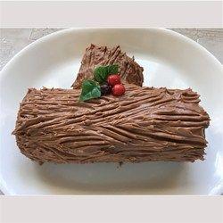 Chocolate Decadence Yule Log Yule Log Recipe Yule Log Food Log