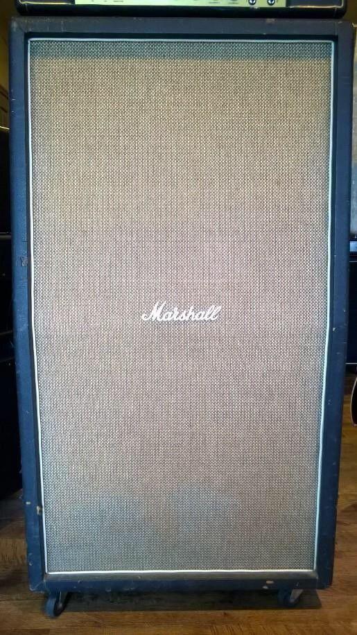 Marshall 8x10 Speaker Cabinet 1968 Basketweave | Reverb | Vintage ...