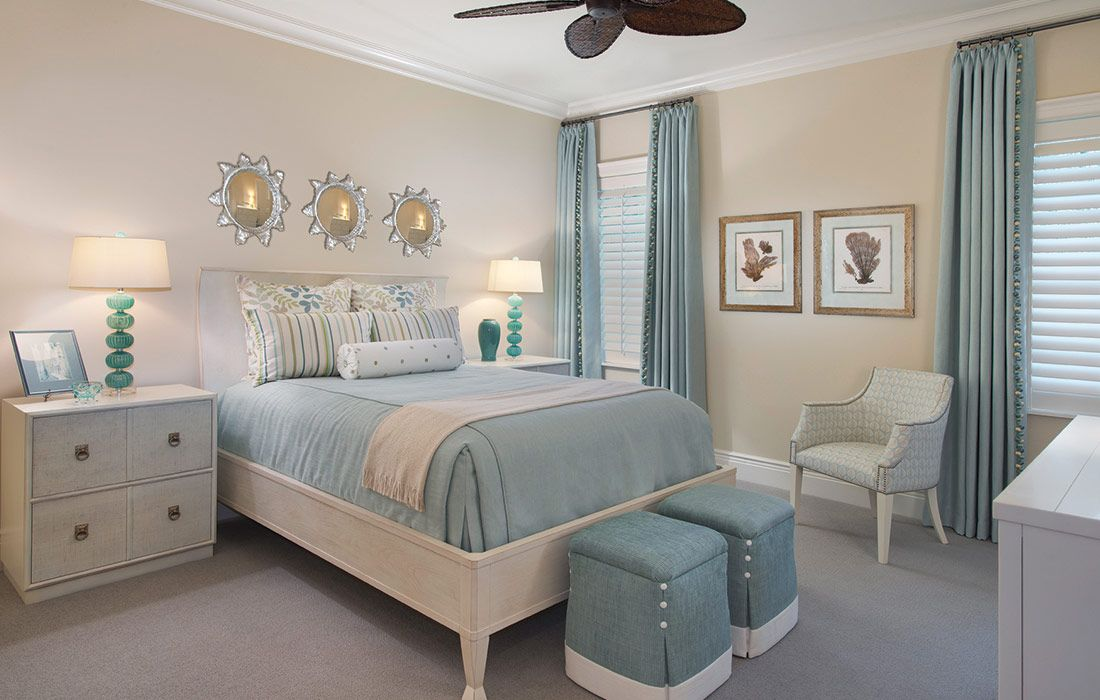 Pin by Teresa Carlyle on Upholstery Beach house bedroom