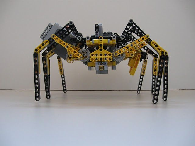 Lego Technic Robot Spider-side | Lego technic, Lego and Spider