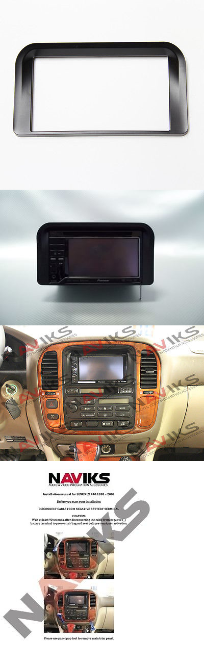 2002 lexus lx470 stereo replacement