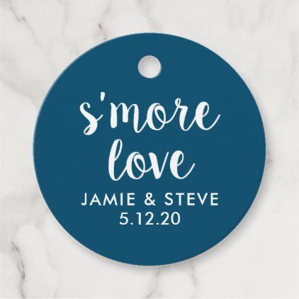 Photo of S'more Love Favor Tags Smore Favors | Zazzle.com