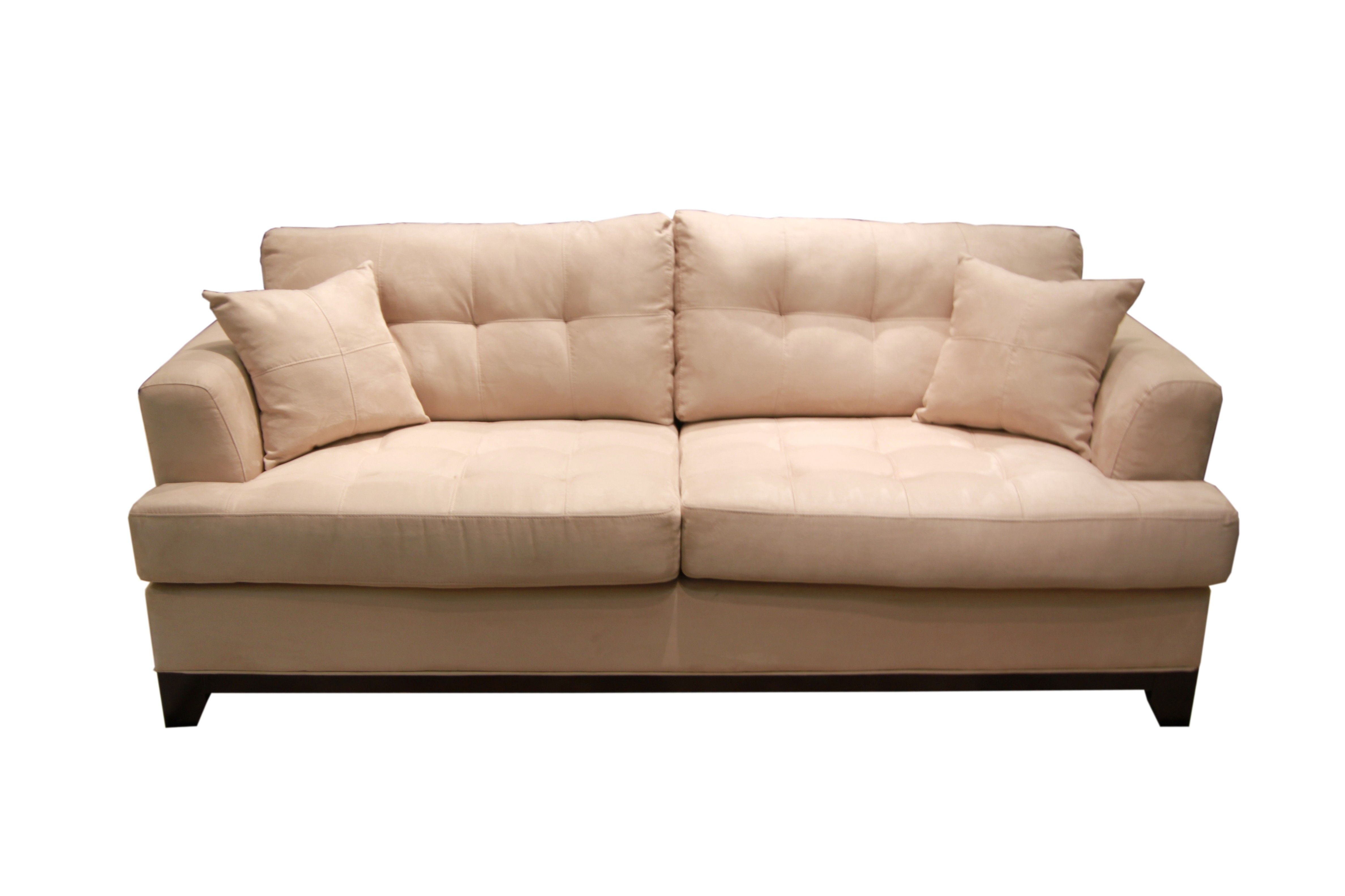 LARGO MANHATTAN CHAMOIS SOFA LIVING ROOM COUCH Gallery