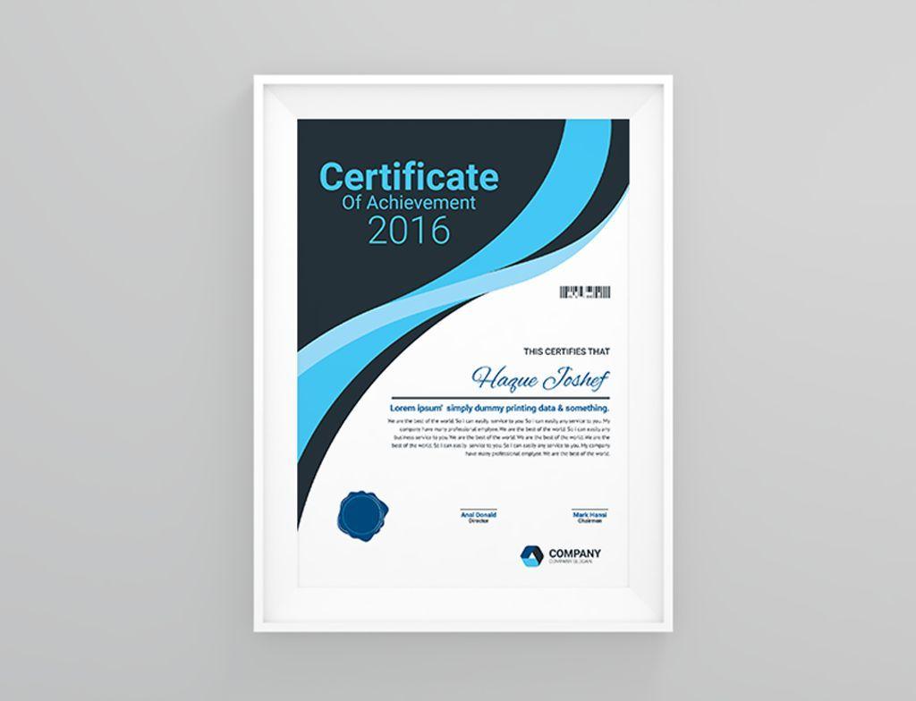 Insurance Company Certificate Template 66464 Certificate Templates Templates Interior Design Institute