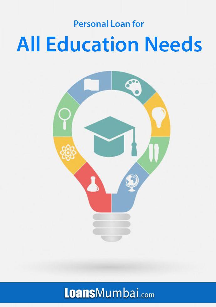 Personal Loan Apply Online For Personal Loans In Mumbai Educational Infographic Teacher Logo Education Logo Design