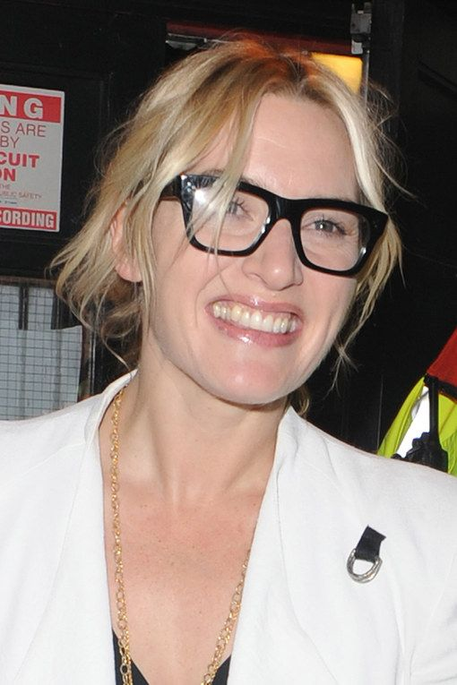 3a3de33a2f1 The Hottest Celebrity Glasses  35 Frames You Need To Be Wearing  Kate  Winslet. For more ideas click the picture or visit www.sofeminine.co.uk
