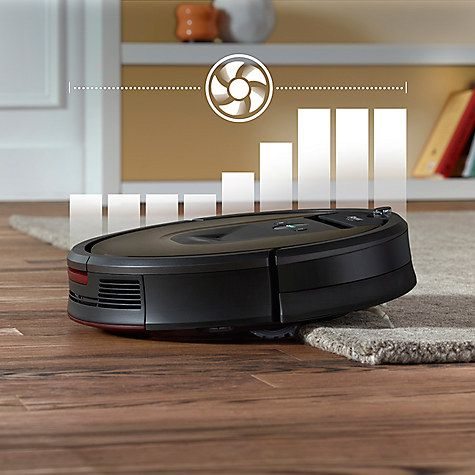 Irobot Roomba 980 Robot Vacuum Cleaner Black Brown Vacuums And