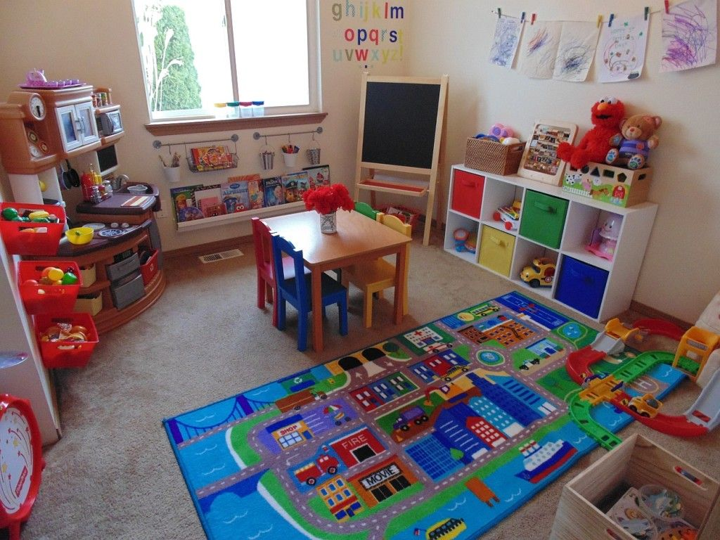 Playroom Makeover on a Budget images