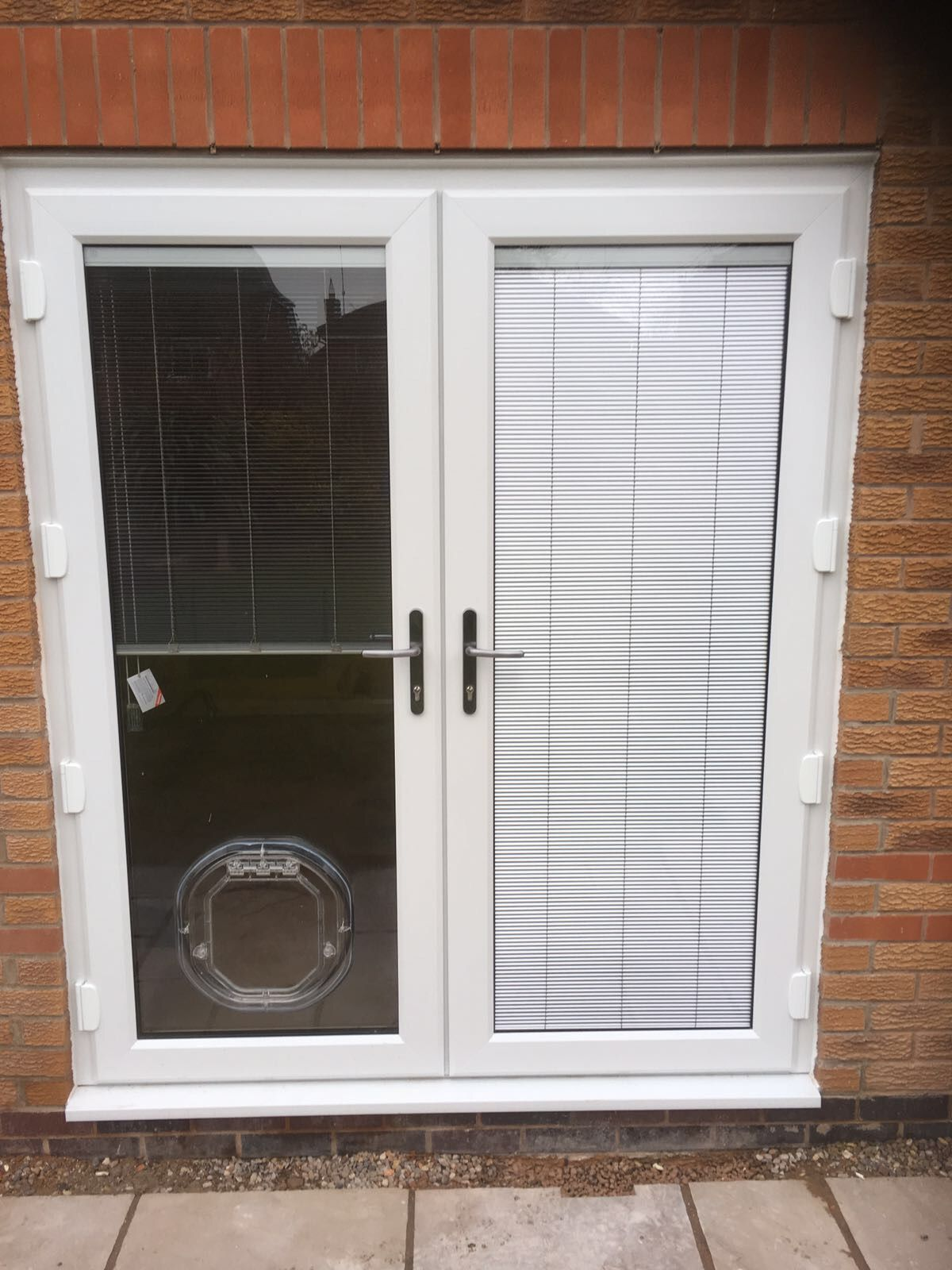 White Synseal Legend 70 French Doors A Rated Double Glazed Units